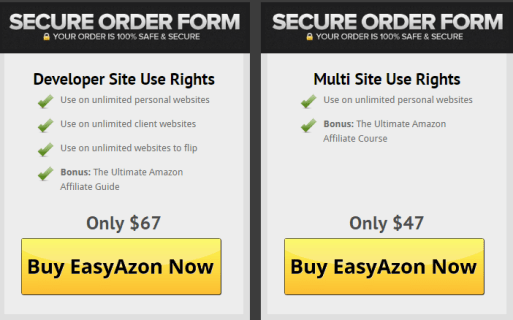 EasyAzon 4 Price $67