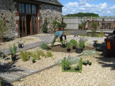 Lovely Gravel Garden Design Garden Design #32
