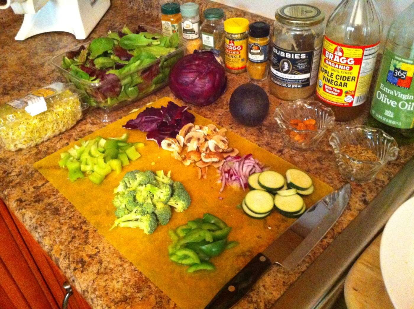 Giant Cancer-Fighting Salad Video
