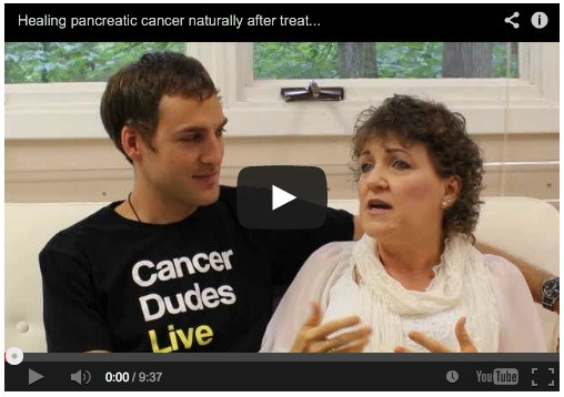 Healing pancreatic cancer naturally after treatment failed
