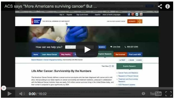 How the American Cancer Society spins survival rates
