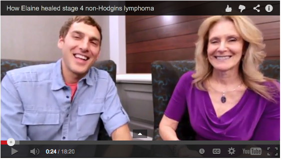 How Elaine cured her stage 4 non-Hodgkins lymphoma