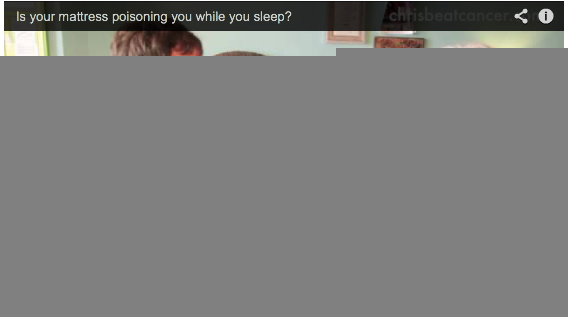 Is your mattress poisoning you while you sleep?