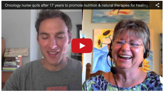 Oncology nurse quits after 17 years to promote nutrition and natural therapies for healing cancer