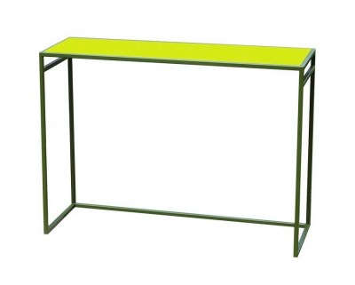 colourful console tables