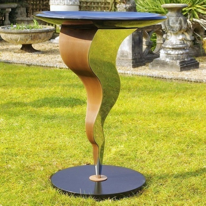 Contemporary garden furniture by Chris Bose. We design and produce luxury home and garden furniture. If you are looking for something a little different then cast an eye at our modern range. Garden sculpture.