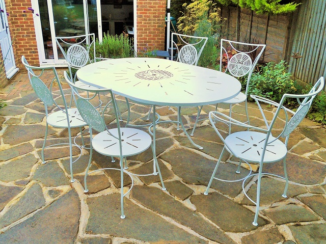 Superbe Metal Garden Furniture Metal Garden Furniture ...