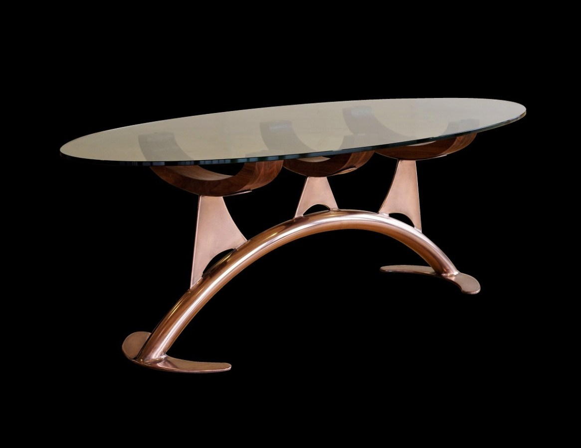 Unusual coffee tables by Chris Bose. Within our range of bespoke designer coffee tables there is a variety of styles to suit all tastes.