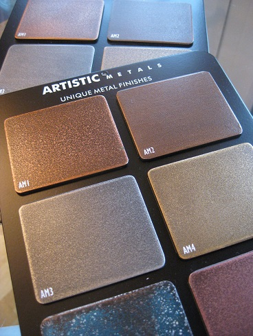 Artistic Metals metal finishes
