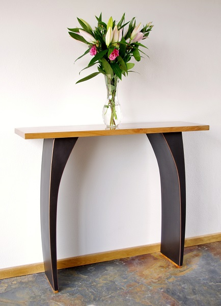 Modern console tables by Chris Bose