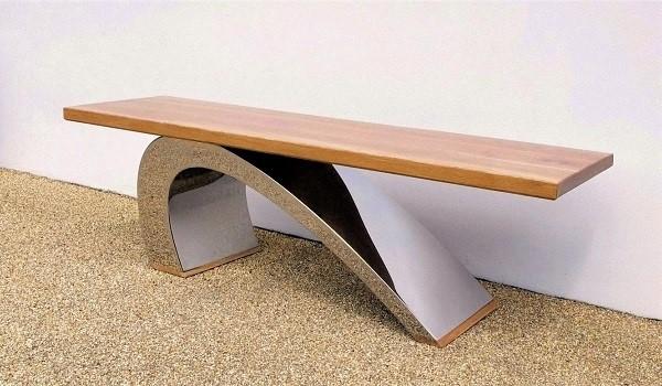 Modern garden bench bespoke furniture