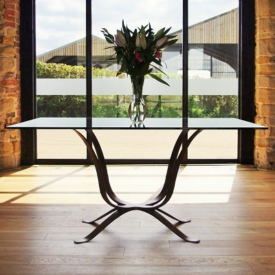 Contemporary dining tables uk bespoke