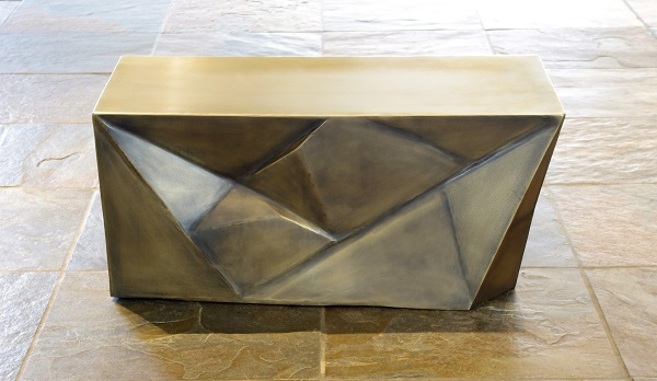 Pyrite coffee table