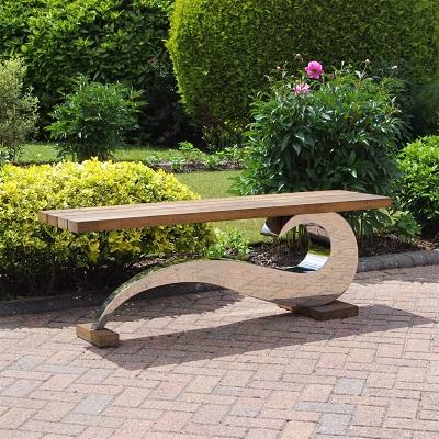 Contemporary garden furniture seat