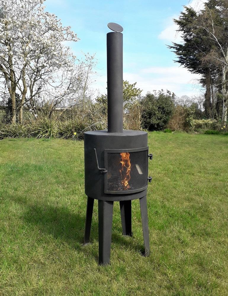 Outdoor wood burners