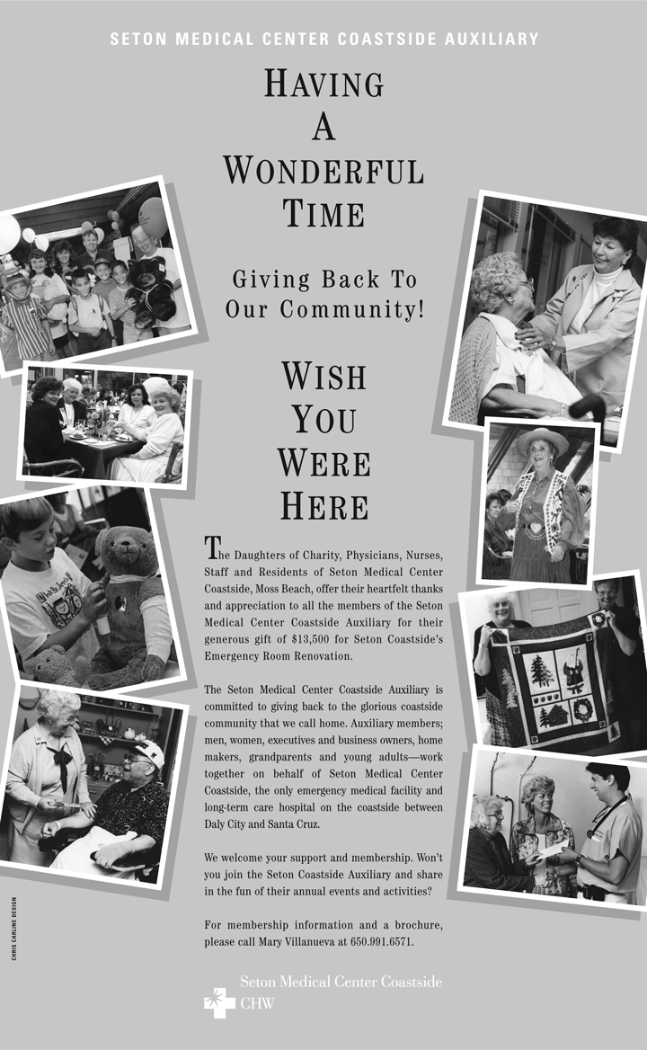 Seton Health Services Foundation: Newspaper, Full Page
