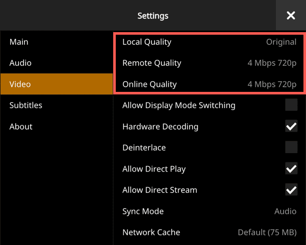 Optimizing Your PLEX Client for Direct Play • Chris