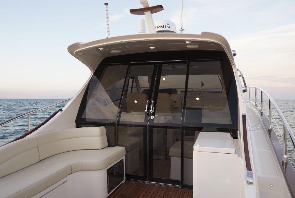 medium resolution of commander 44 lobster style boat cabin cruiser boat