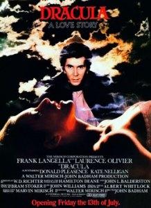 Inspiration: Dracula movie poster courtesy of Wikpedia
