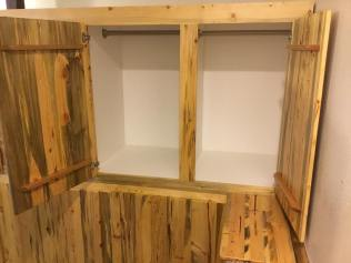 Beetle Kill Cabinet Doors