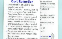 Cost reduction tips – what you need to measure