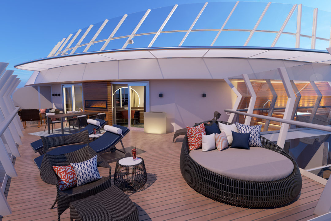 New Carnival Mardi Gras Features Fabulous Array Of Suites