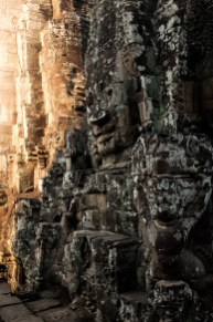 Afternoon light at Bayon
