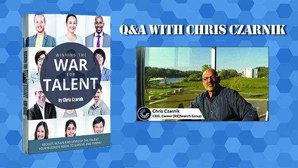 chris czarnik winning the war for talent book slide