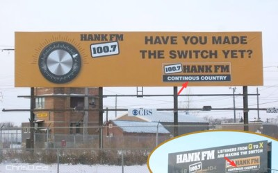 Hank FM Billboards — Somebody's Getting Fired!