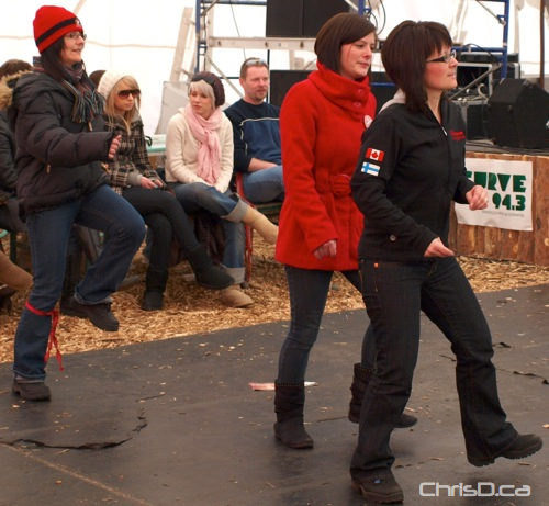 Festival du Voyageur Dancing