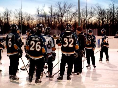 Manitoba Moose Practice