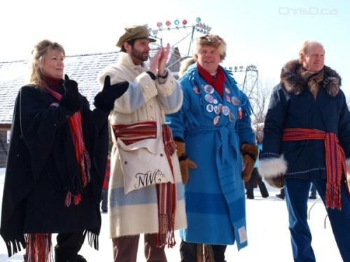 Politicians and Dignitaries - Festival du Voyageur