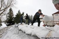 Manitoba Flood Sandbagging