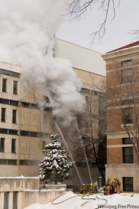 University of Manitoba - Duff Roblin Fire