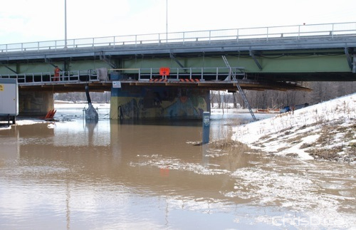 South Perimeter Bridge Flooding