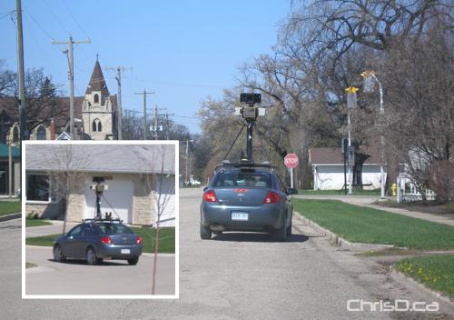 Google Street View - Carman