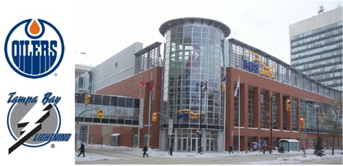 Edmonton Oilers - Tampa Bay Lightning - MTS Centre