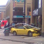 Traffic Building Accident