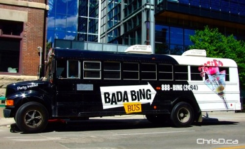 Bada Bing Party Bus
