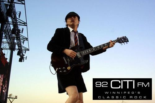 Angus Young - AC/DC - 92 CITI FM