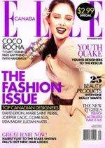Fashion Magazine Model