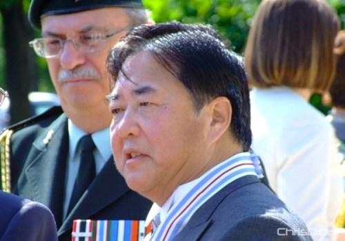 Manitoba Lieutenant Governor Philip Lee