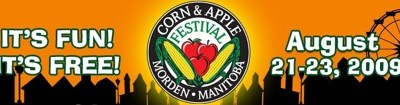 42nd Annual Morden Corn and Apple Festival