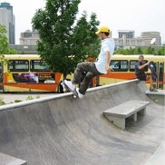 Plaza Skateboard Park - The Forks
