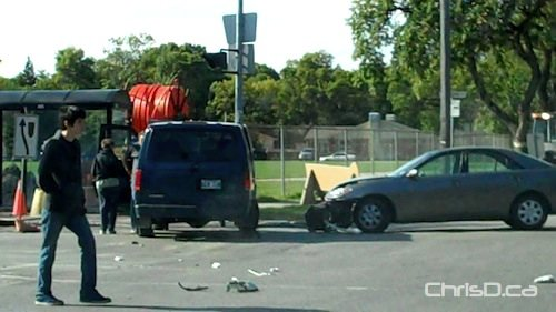 Stafford Avenue - Academy Road Accident