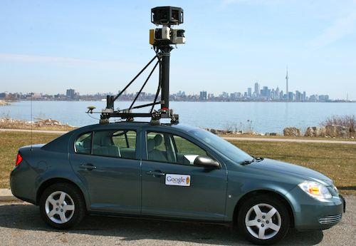 Google Street View Car Toronto