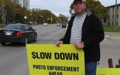 Group Rallies to Warn Motorists of Short Amber Lights