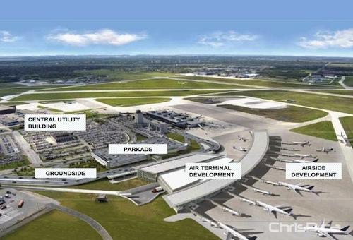 New Winnipeg Airport Construction