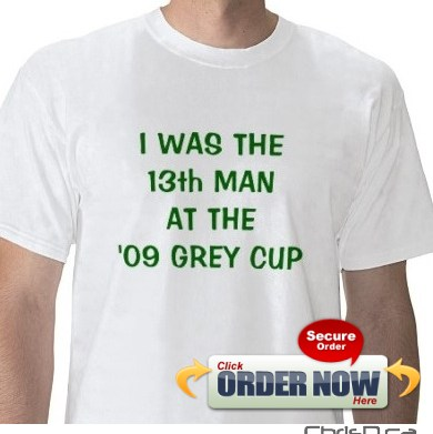 13th Man Grey Cup T-Shirt