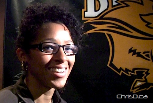 Desiree Scott - Manitoba Bisons Soccer
